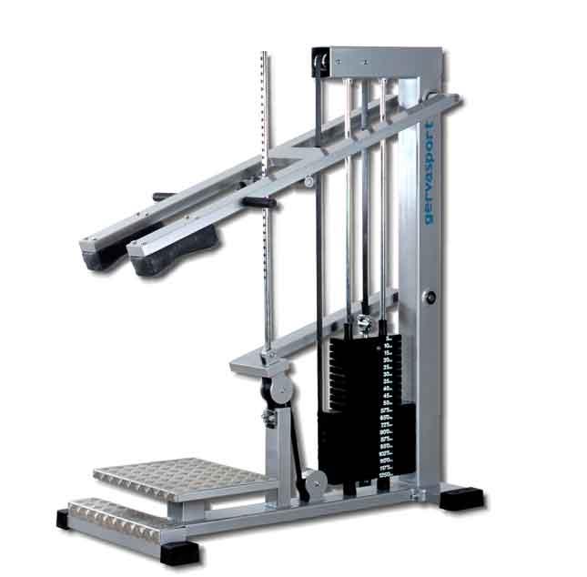 standing leg press machine